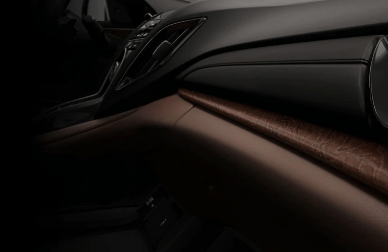 2019 Acura RDX Advance Package dash board