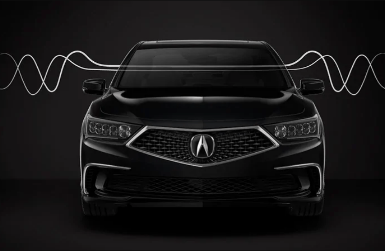 2019 Acura RLX Technology Package acoustic windows