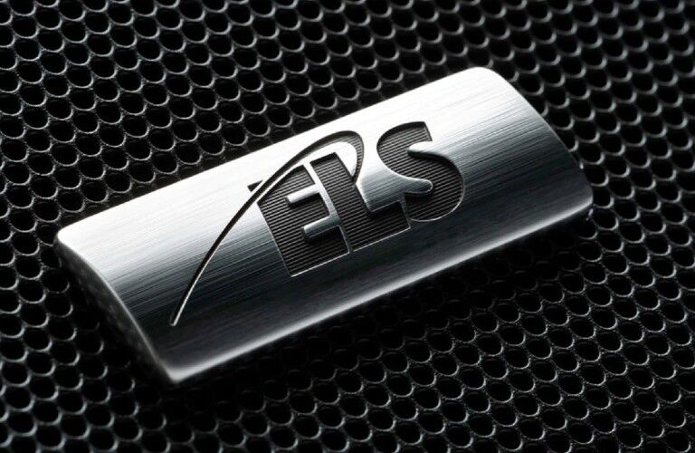 Close up of the ELS logo on a speaker in the 2020 Acura ILX Technology Package