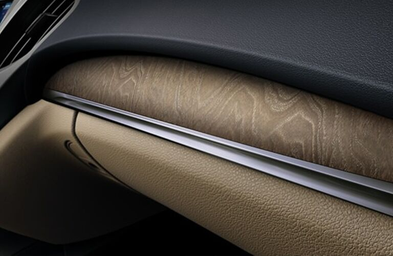 Close up of the interior door trim inside the 2020 Acura MDX Technology Package