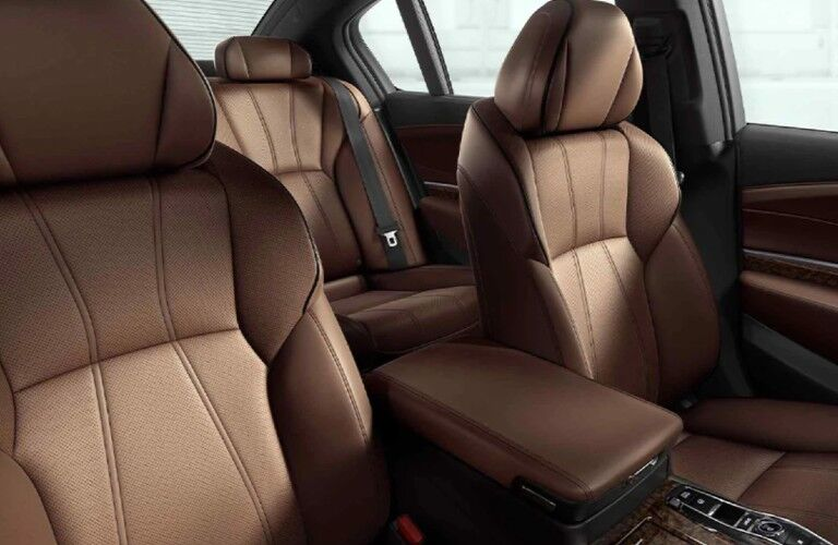 Seats in the 2020 Acura RLX Advance Package