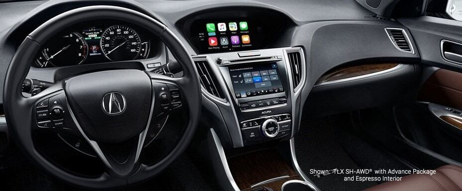 TLX with advance package and espresso interior