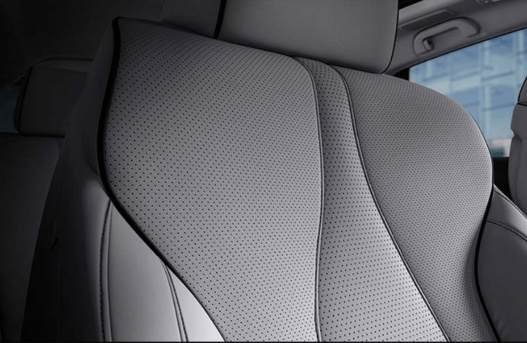 Close up of a heated and ventilated seat in the 2020 Acura RDX Advance Package