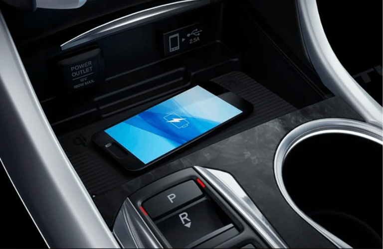 2020 Acura TLX Advance Package charging station
