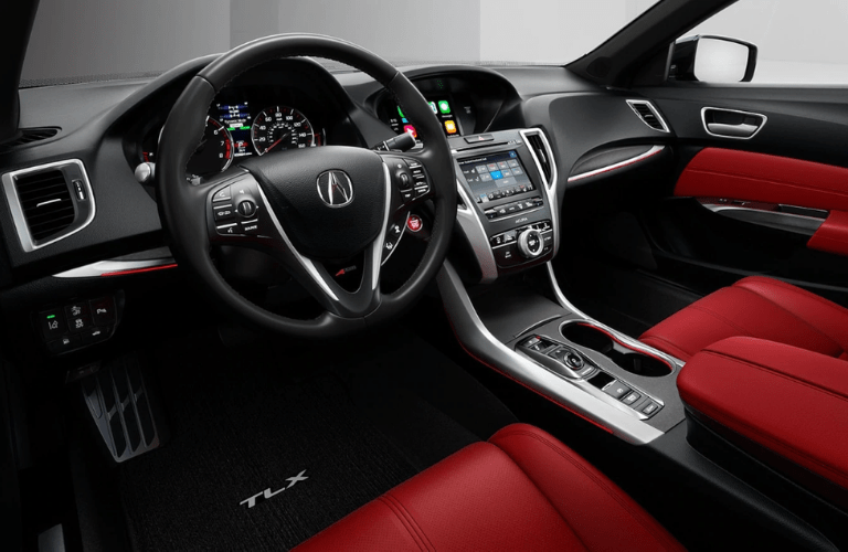 2020 Acura TLX interior front