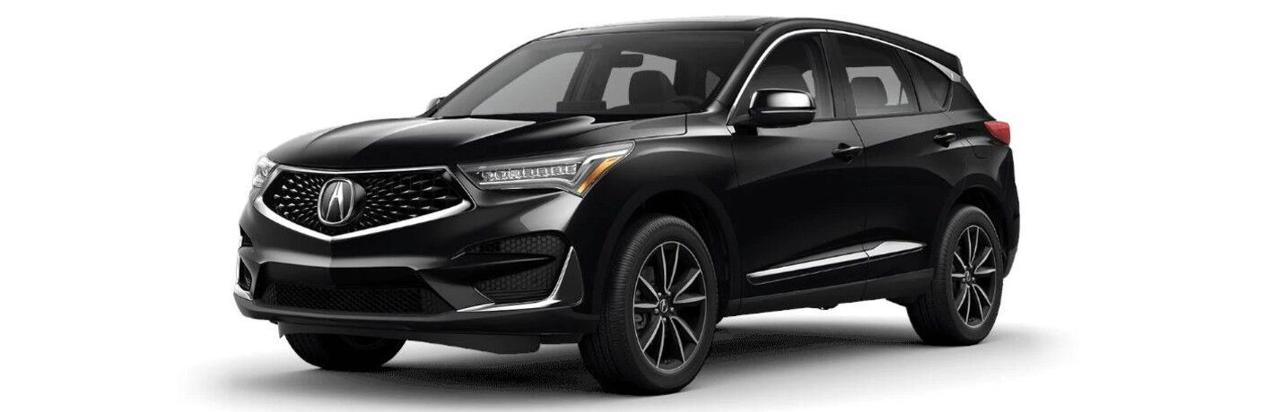 Black 2021 Acura RDX Technology Package