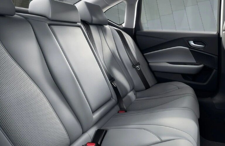 Rear seats inside the 2021 Acura TLX Technology Package