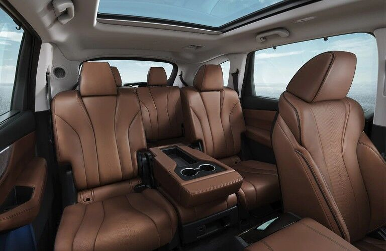 Seats inside the 2022 Acura MDX