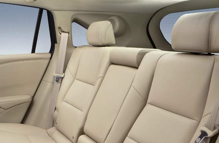 Rear seats of the 2018 Acura RDX