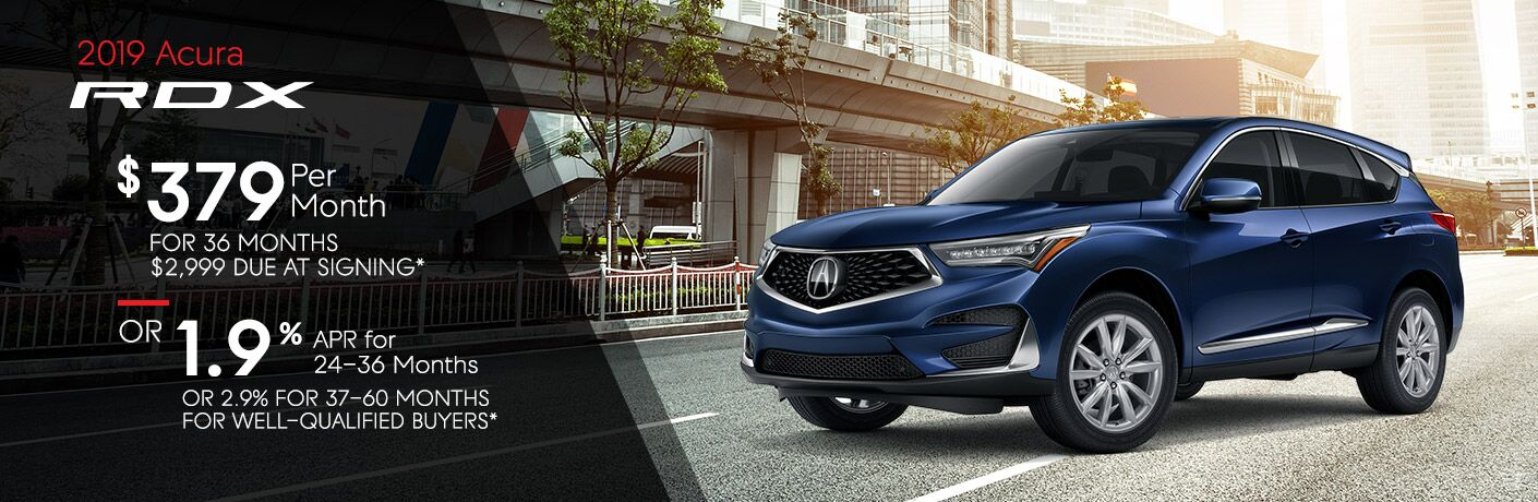 2019 Acura RDX lease specials in Washington DC