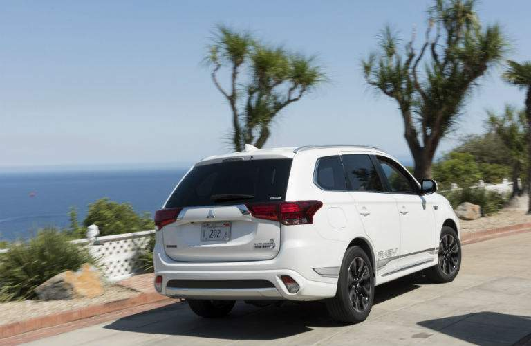 The 2018 Mitsubishi Outlander PHEV is at home doing almost anything, like commuting to work
