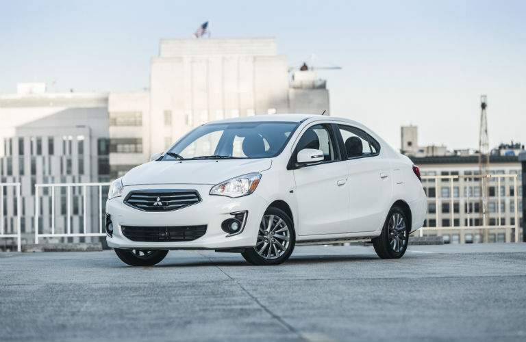The base ES trim of the 2018 Mirage G4 is handsomely equipped