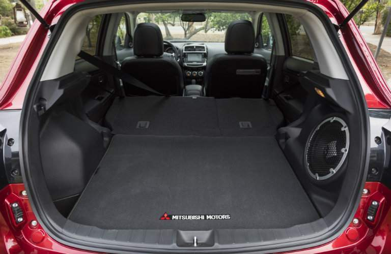 A flexible and large cargo area is a major strength of the 2017 Outlander Sport