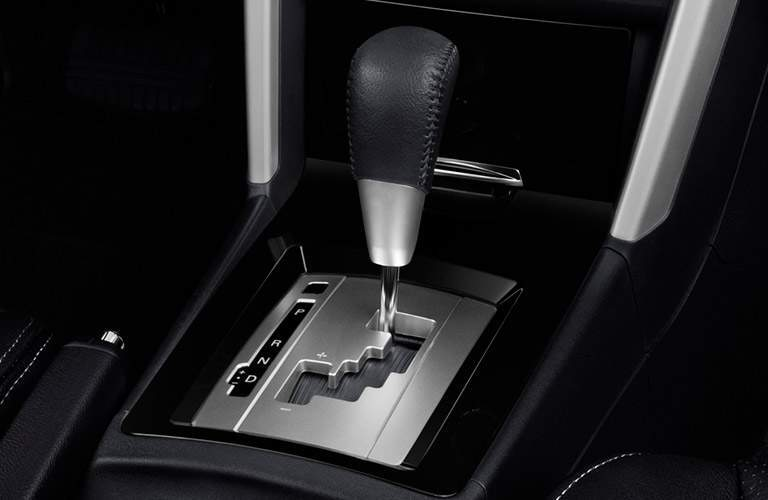 An automatic transmission can be used with the base Lancer ES