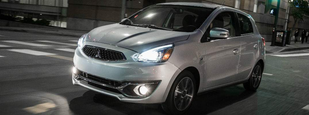 What is the release date for the 2018 Mitsubishi Mirage