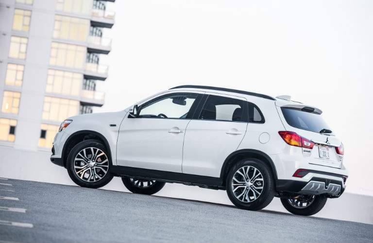 A left profile view of the Mitsubishi Outlander Sport