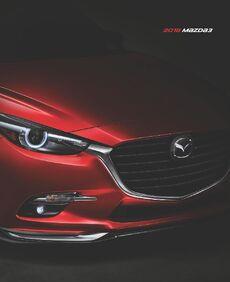 2018 Mazda 3 Brochure