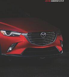 2018 Mazda CX-3 Brochure