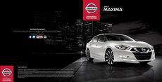 2017 Nissan Maxima Brochure