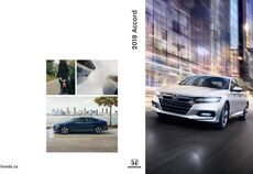 2018 Honda Accord Brochure