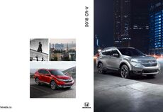 2018 Honda CR-V Brochure