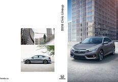 2018 Honda Civic Brochure