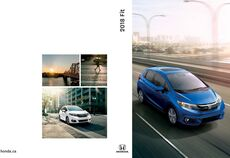2018 Honda Fit Brochure