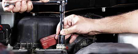 Battery Service at CROWN Mazda
