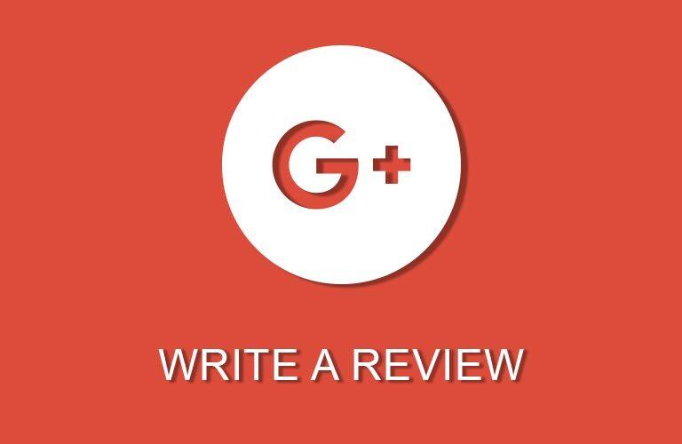 Review Us on GooglePlus