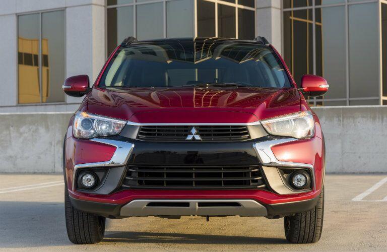 Red Mitsubishi Outlander Sport