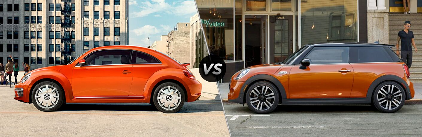 2018 Volkswagen Beetle vs 2018 Mini Cooper