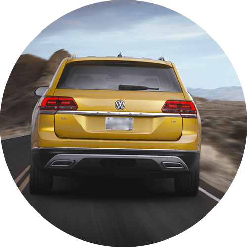 2018 Atlas Rear Traffic