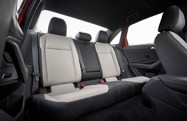 2020 VW Jetta interior rear seats