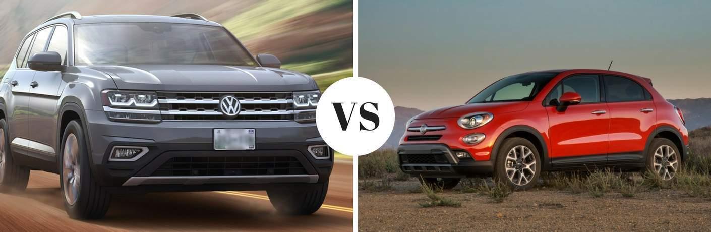 2018 Volkswagen Atlas vs 2017 Fiat 500X