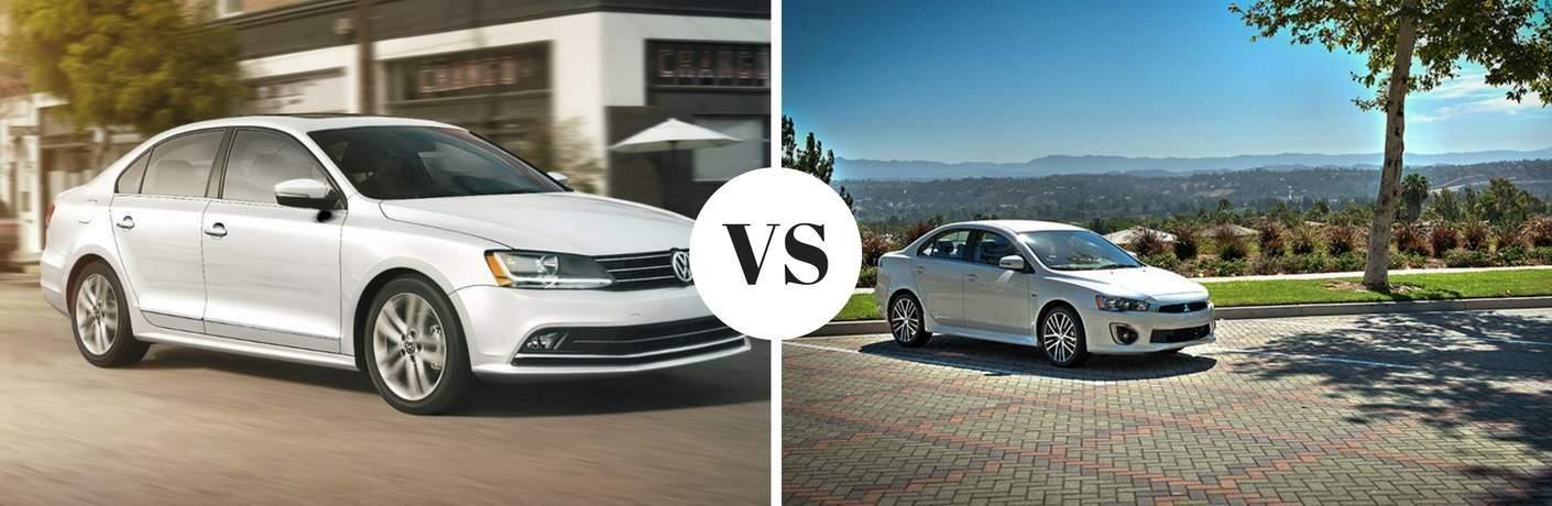 2017 Volkswagen Jetta vs 2017 Mitsubishi Lancer