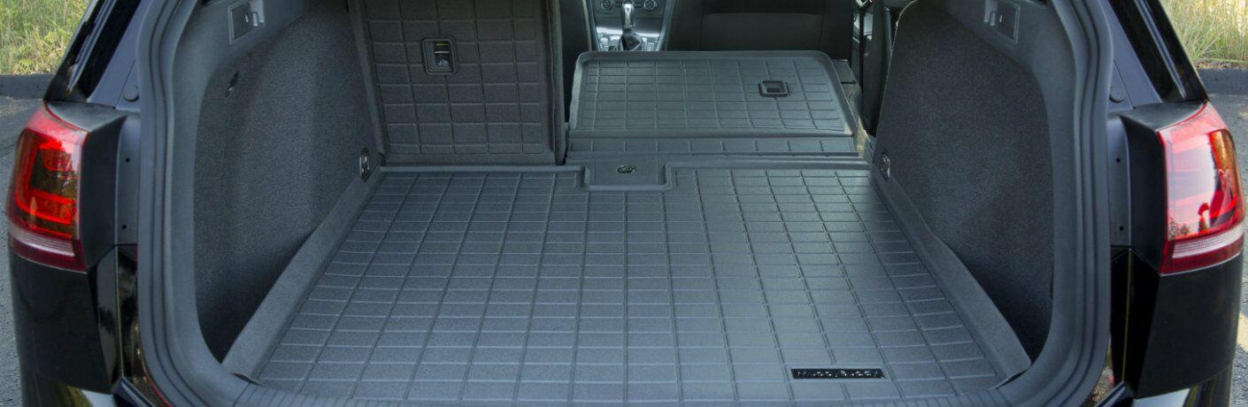 Volkswagen Muddy Buddy cargo liner inside a crossover