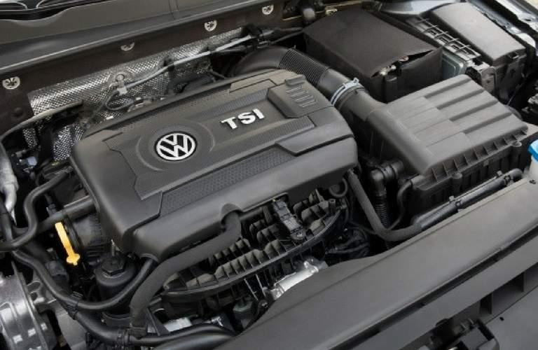 2018 Volkswagen Golf SportWagen's TSI engine