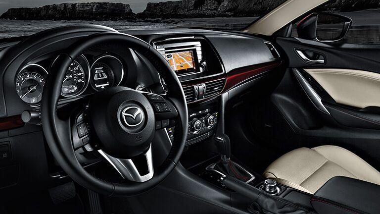 2015 Mazda 6 seating