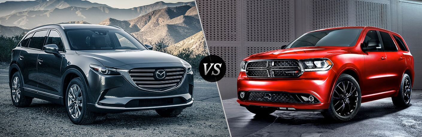 2016 Mazda CX-9 vs 2017 Dodge Durango