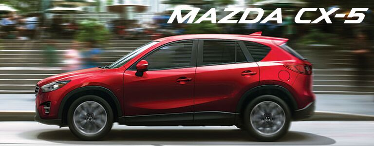 new mazda CX-5 at holiday mazda