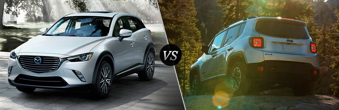 2017 Mazda CX-3 vs 2017 Jeep Renegade