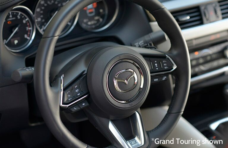 2017 mazda6 steering wheel controls and design