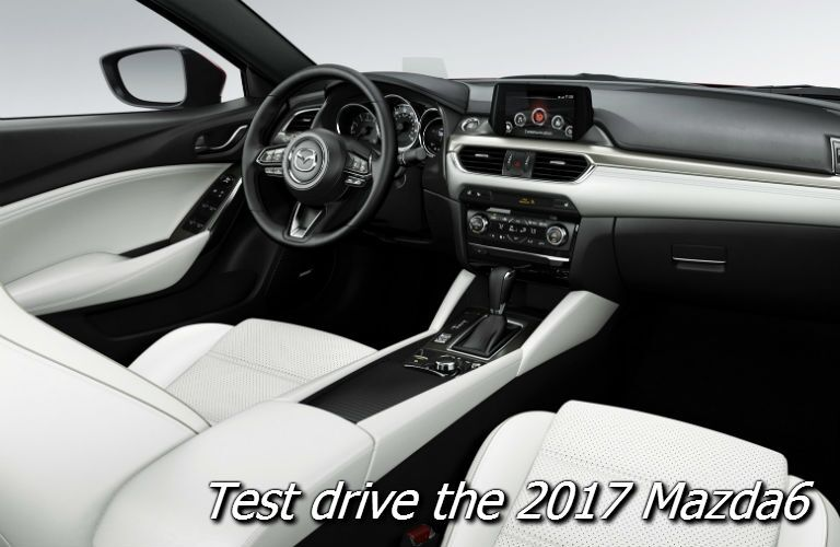 where to test drive the 2017 mazda6 grand touring trim in fond du lac county