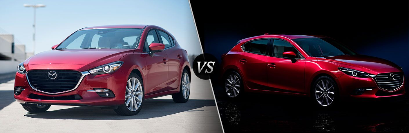2017 mazda3 sedan vs 2017 mazda3 hatchback. Black Bedroom Furniture Sets. Home Design Ideas