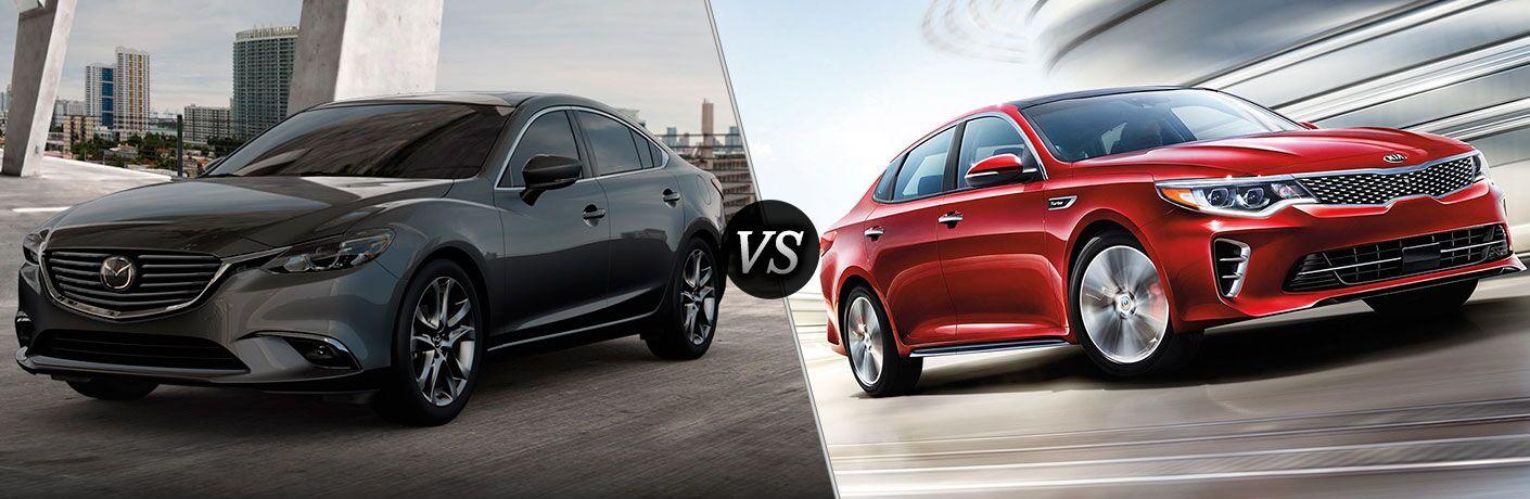 2017 Mazda6 vs 2017 Kia Optima