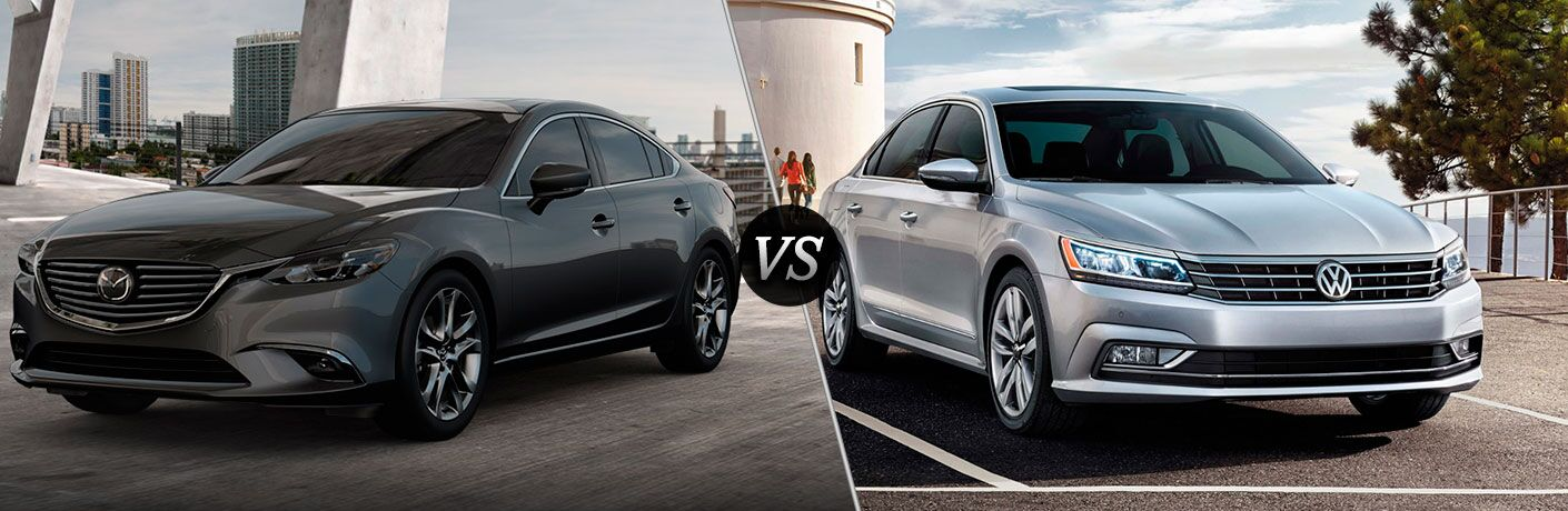 2017 Mazda6 vs 2017 VW Passat