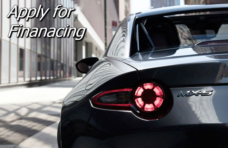 apply for financing for the 2017 mazda mx-5 miata rf