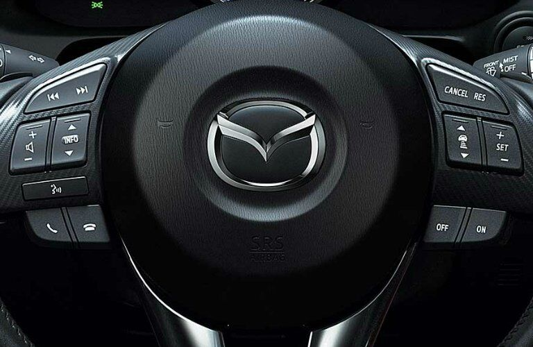 2017 mazda cx-3 steering wheel controls and buttons