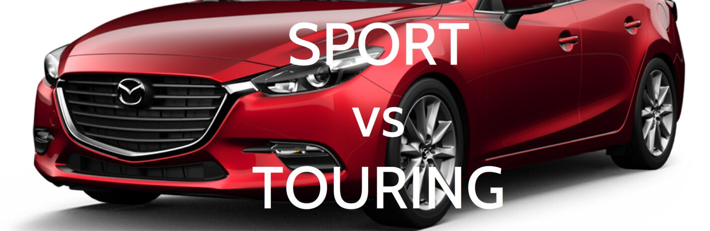 2017 Mazda3 Sport vs Touring Trim