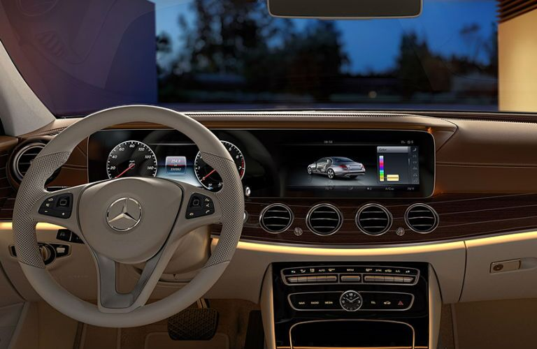 2017 Mercedes-Benz E-Class Steering Wheel and Dashboard